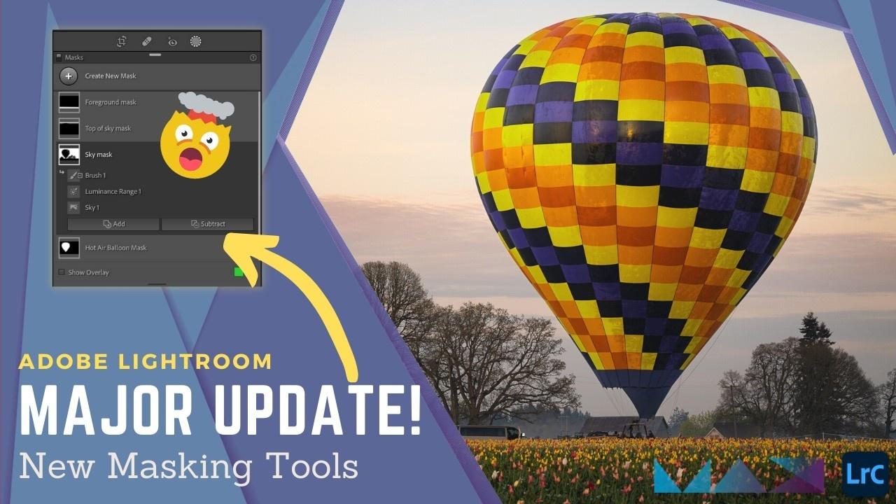 New masking tools in Adobe Lightroom