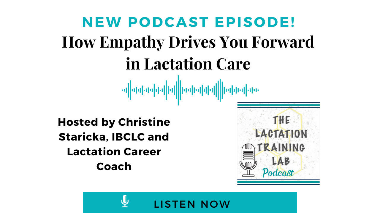 Graphic Image for Episode 14 of The Lactation Training Lab Podcast