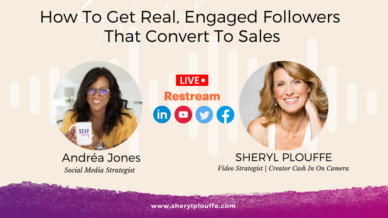 How To Get Real, Engaged Followers That Convert To Sales