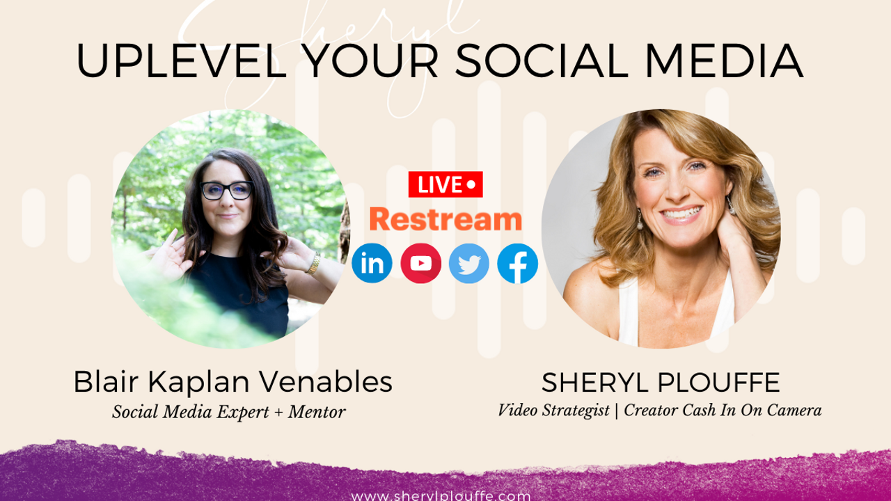 Uplevel Your Social Media with Blair Kaplan Venables