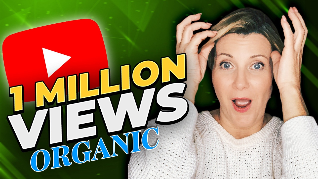 1 million video views organically