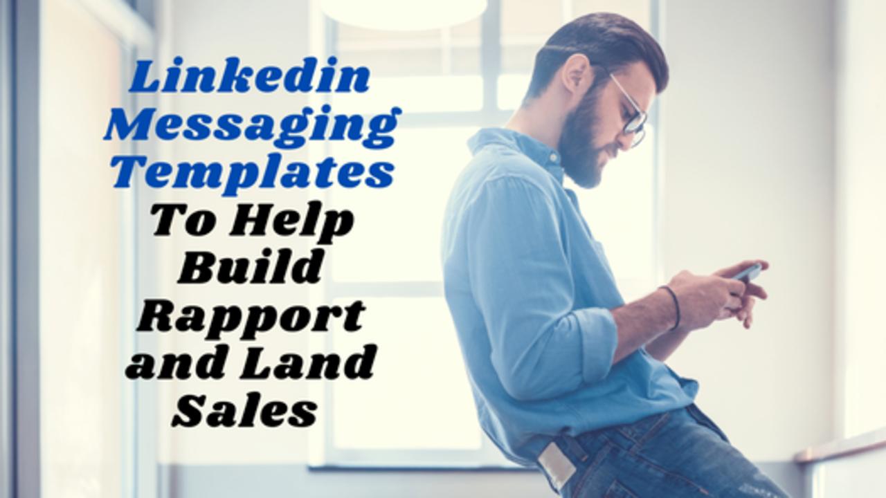 linkedin messaging templates