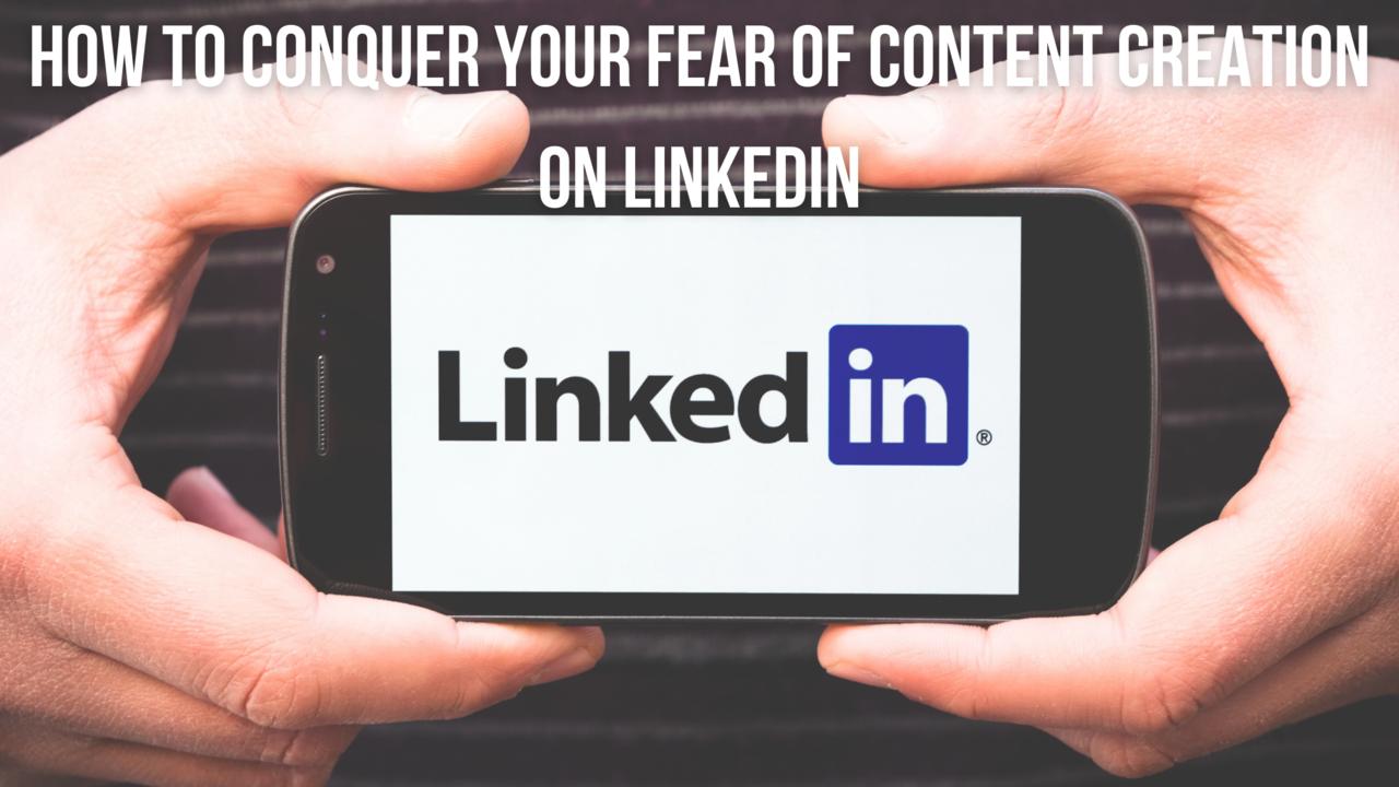 fear of posting on LinkedIn