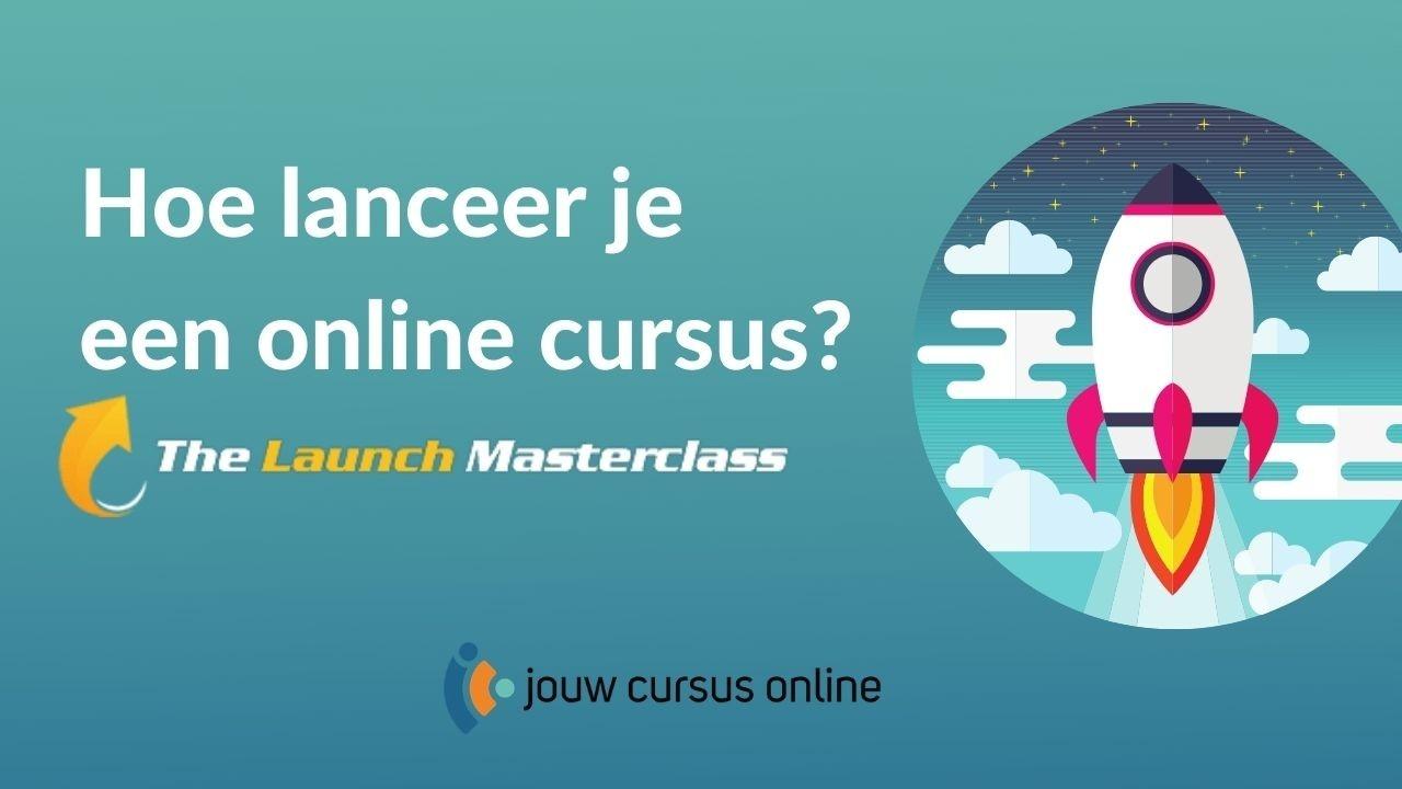 hoe lanceer je een online cursus