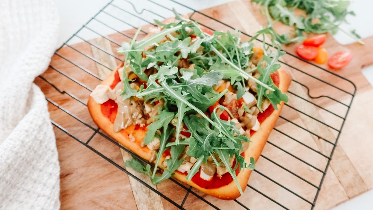 Dairy-Free & Gluten-Free Tahini Pizza Recipe