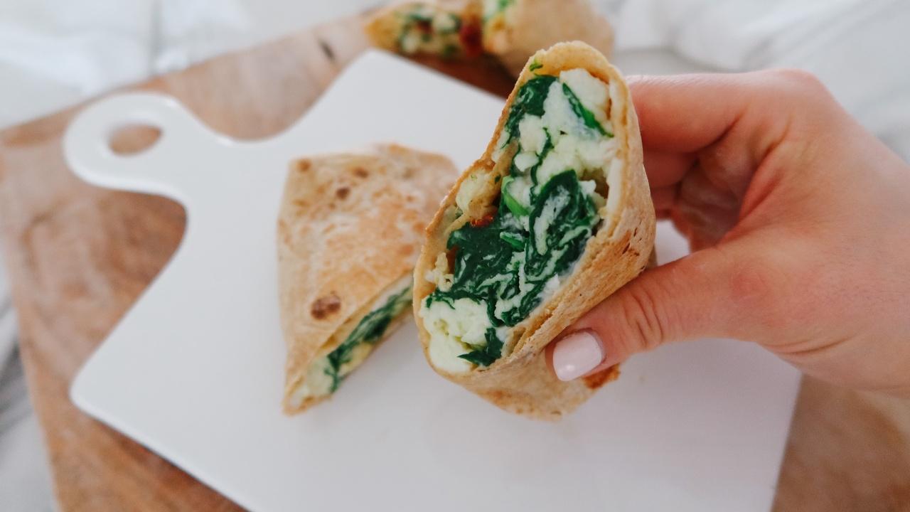 Starbucks Spinach, Feta, & Egg White Wrap