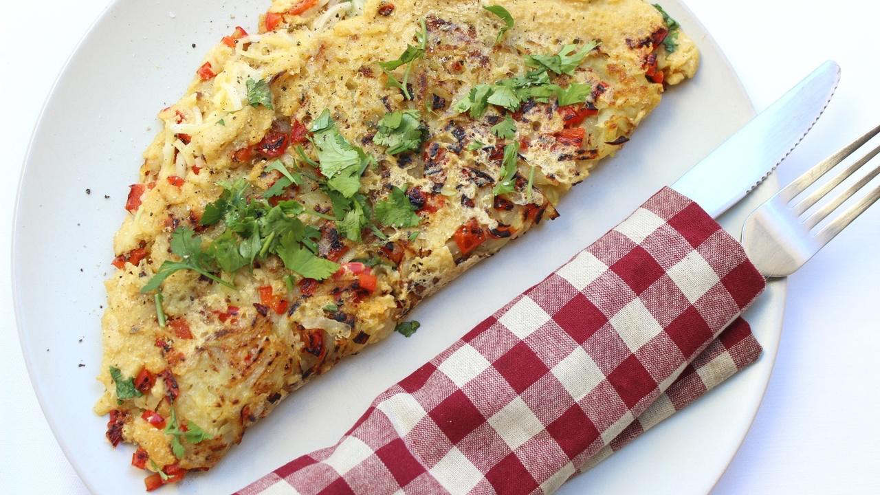 Vegan Hash Brown Omelet