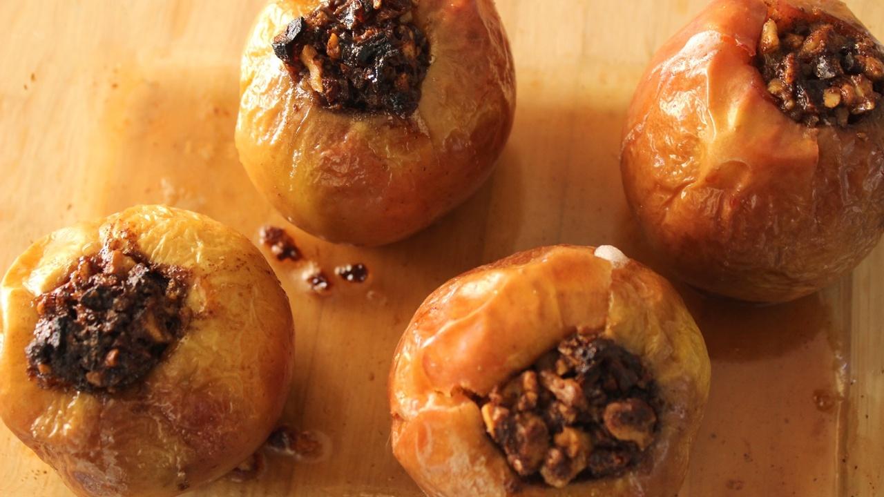Vegan Baked Apples
