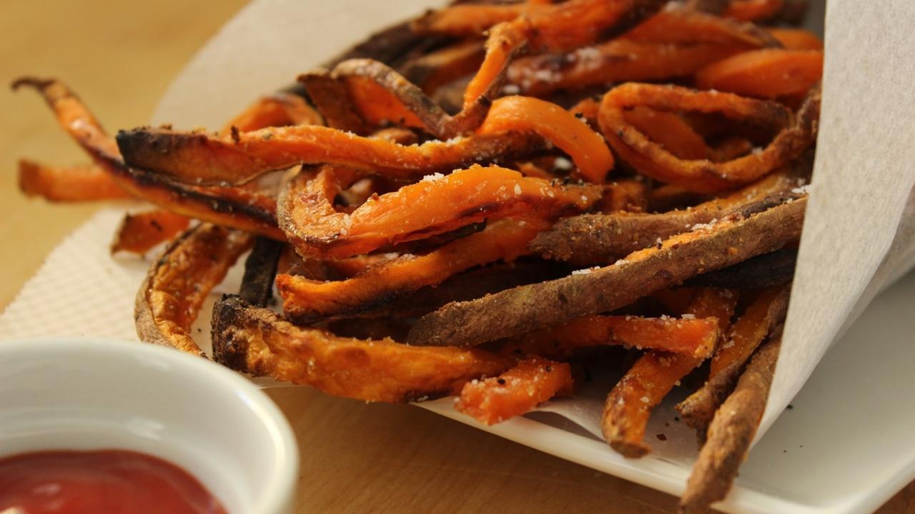 Crispy Oven Sweet Potato Fries