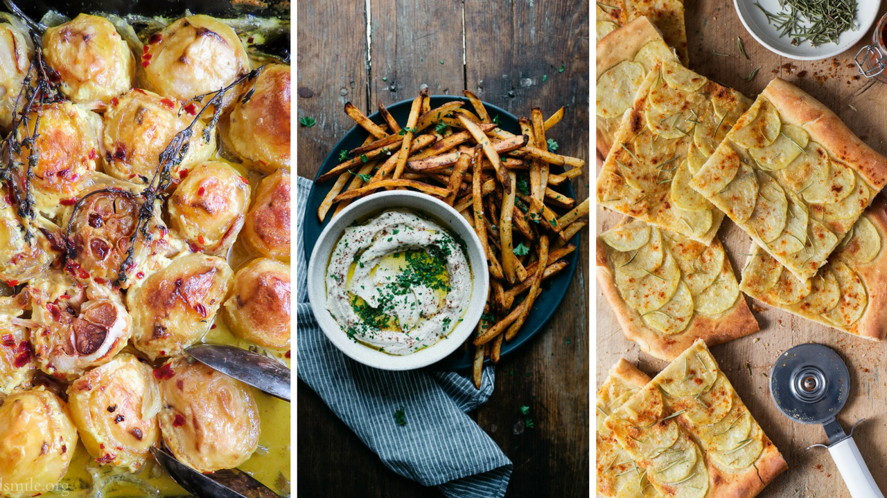 The Top 10 Vegan Potato Recipes Ever!