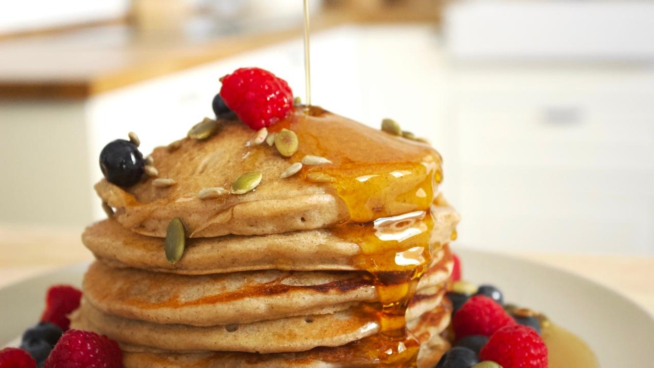 The fluffiest vegan and gluten free buckwheat pancake recipe | Brownble