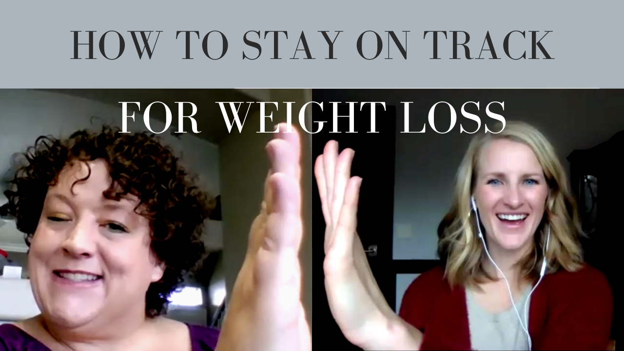 How to stay on track for sustainable weight loss | Weight Loss Coaching with Dr. Morgan Nolte