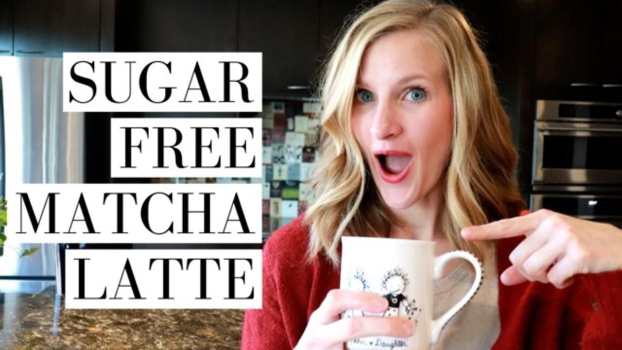 HOW TO MAKE LOW CARB MATCHA LATTES AT HOME