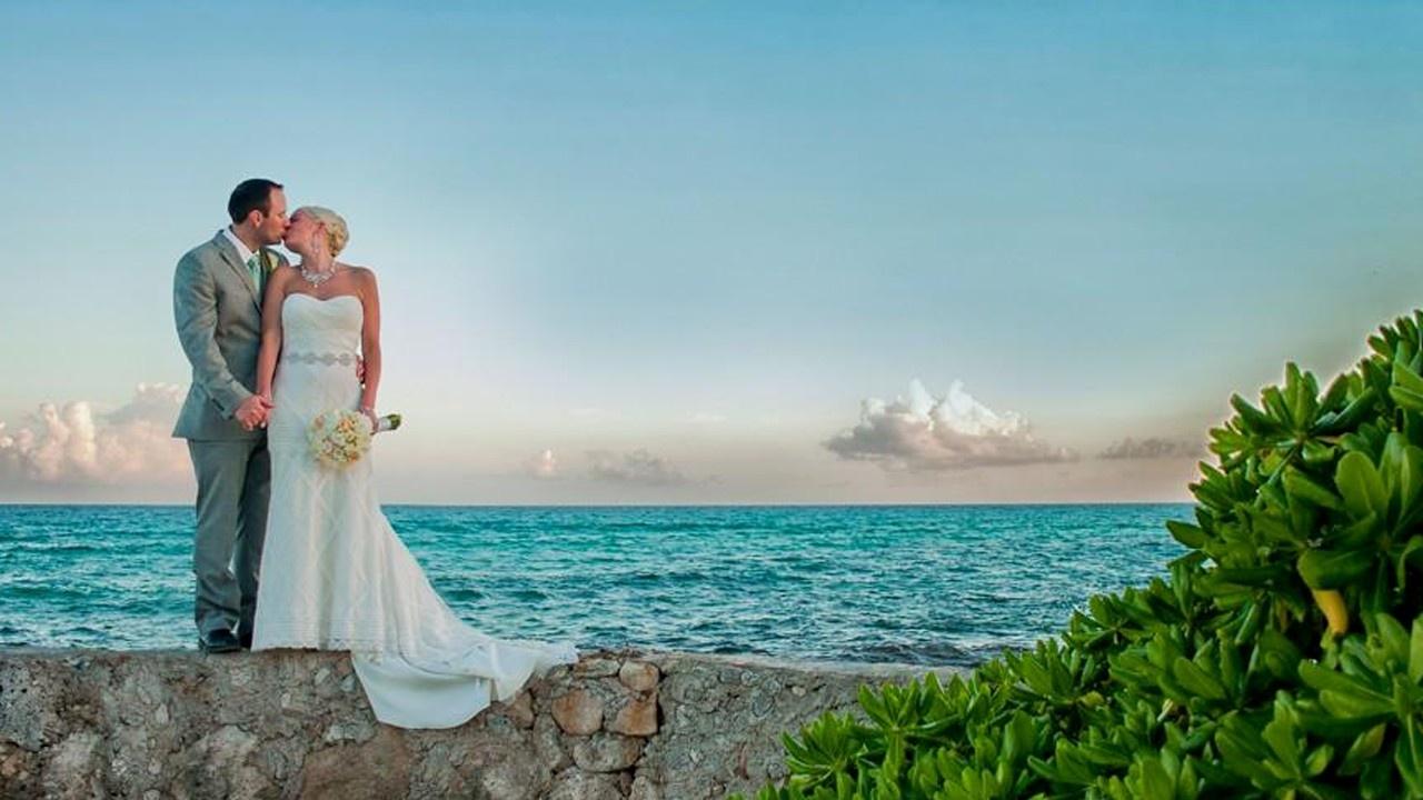 Destination Wedding at El Dorado Royale, Mexico