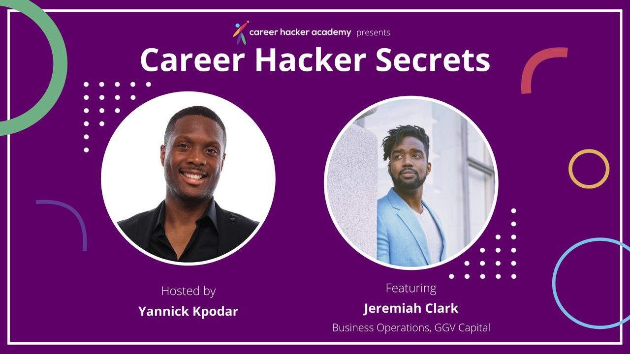 Career Hacker Secrets Podcast Episode 1