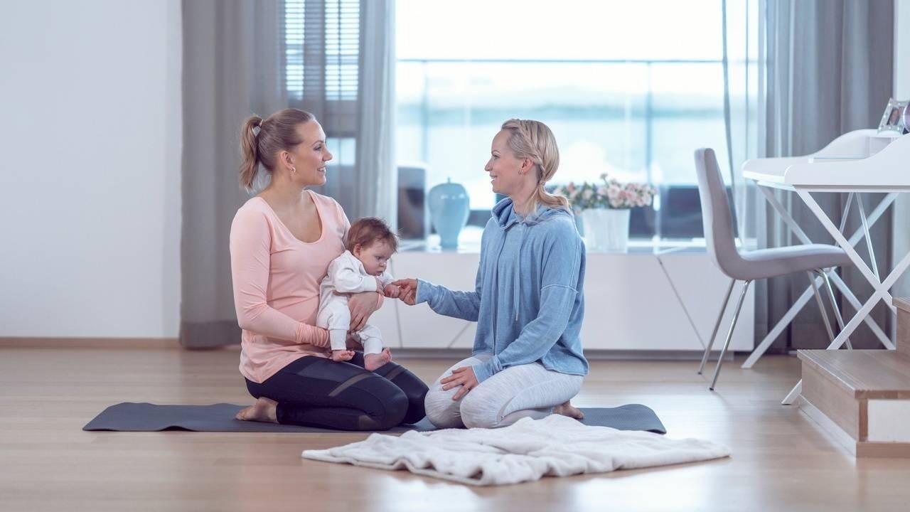 Äidin hyvinvointi - lantionpohja vaikuttaa kokonaisvaltaisesti