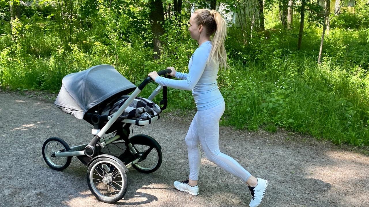 Juoksu synnytyksen jälkeen