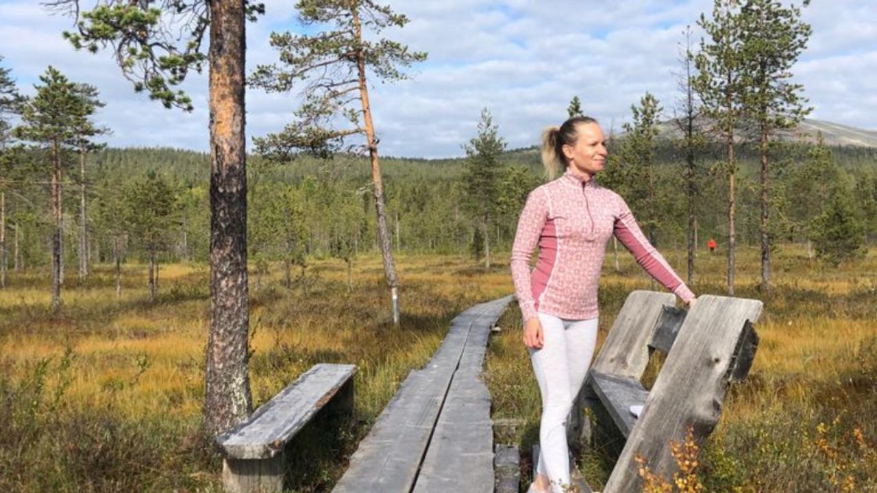 Nordic Fit Maman Riina Laaksonen muutti vuodeksi Ylläkselle