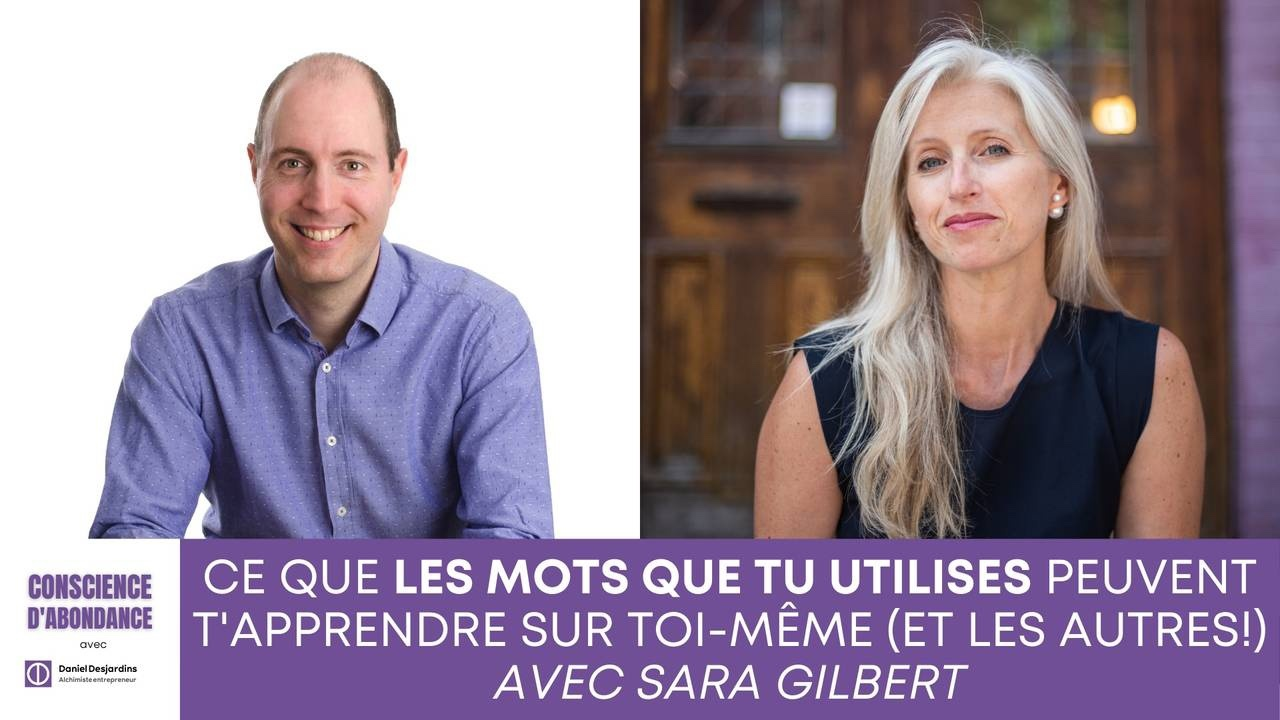 Sara Gilbert et Daniel Desjardins