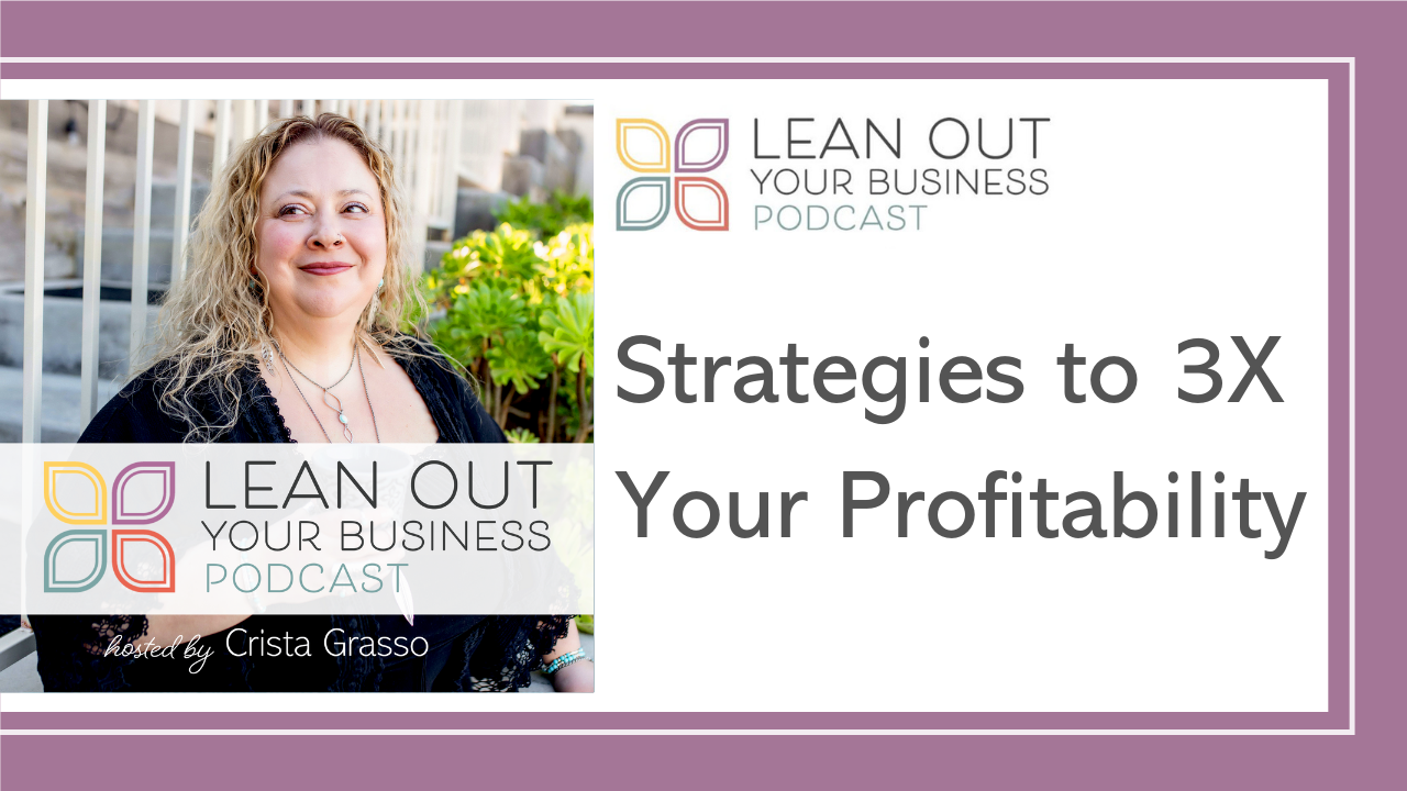 Strategies to 3X Your Profitability