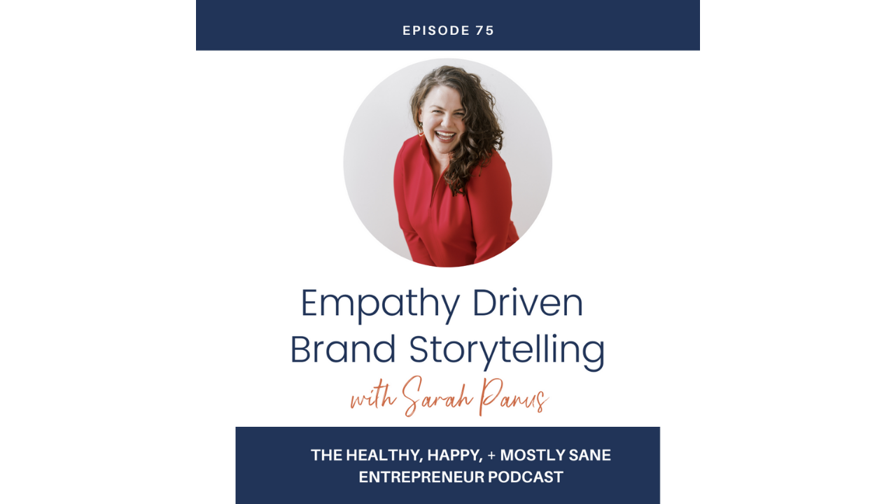 empathy brand storytelling solopreneur messaging