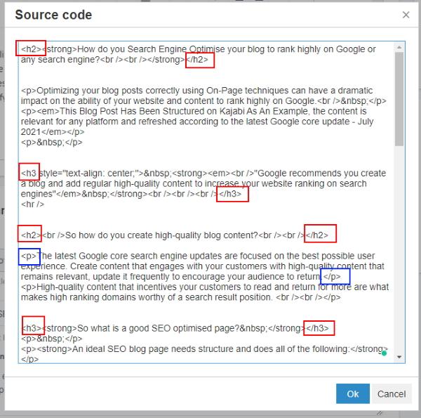 Kajabi Blog Source Code
