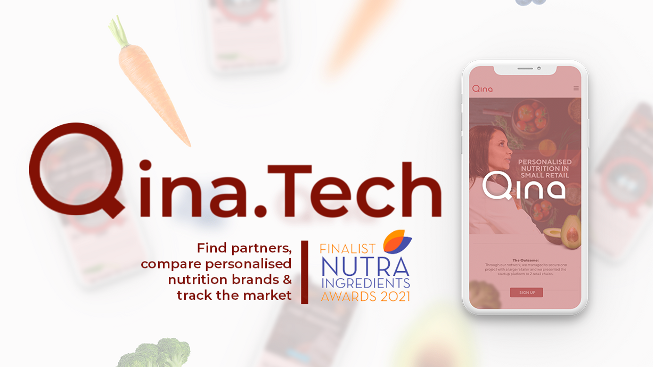 Qina.tech - Combining Personalised Nutrition & Technology