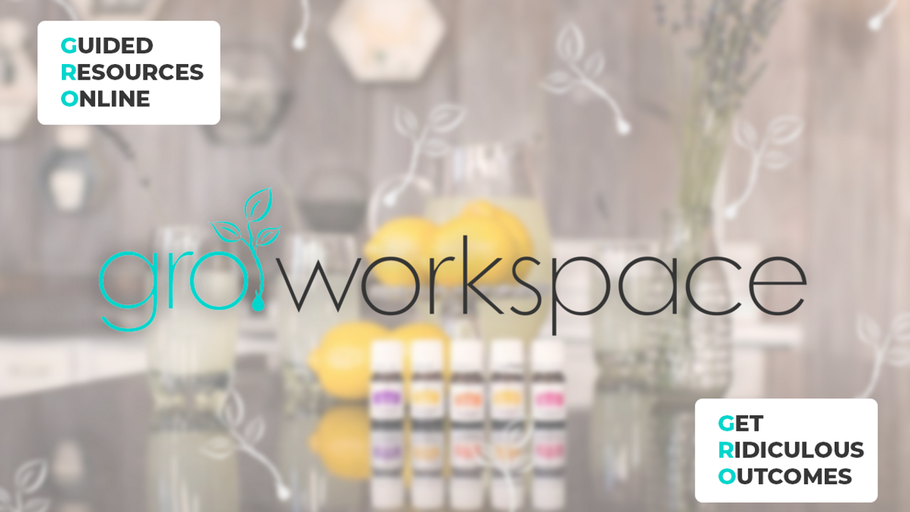 GROworkspace - Grow Your Young Living Business