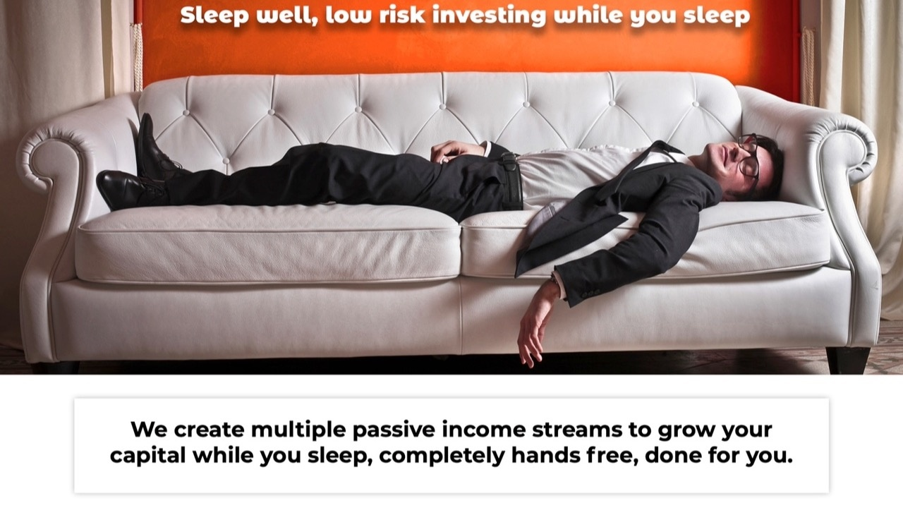 We Create Passive Income For You Or With You