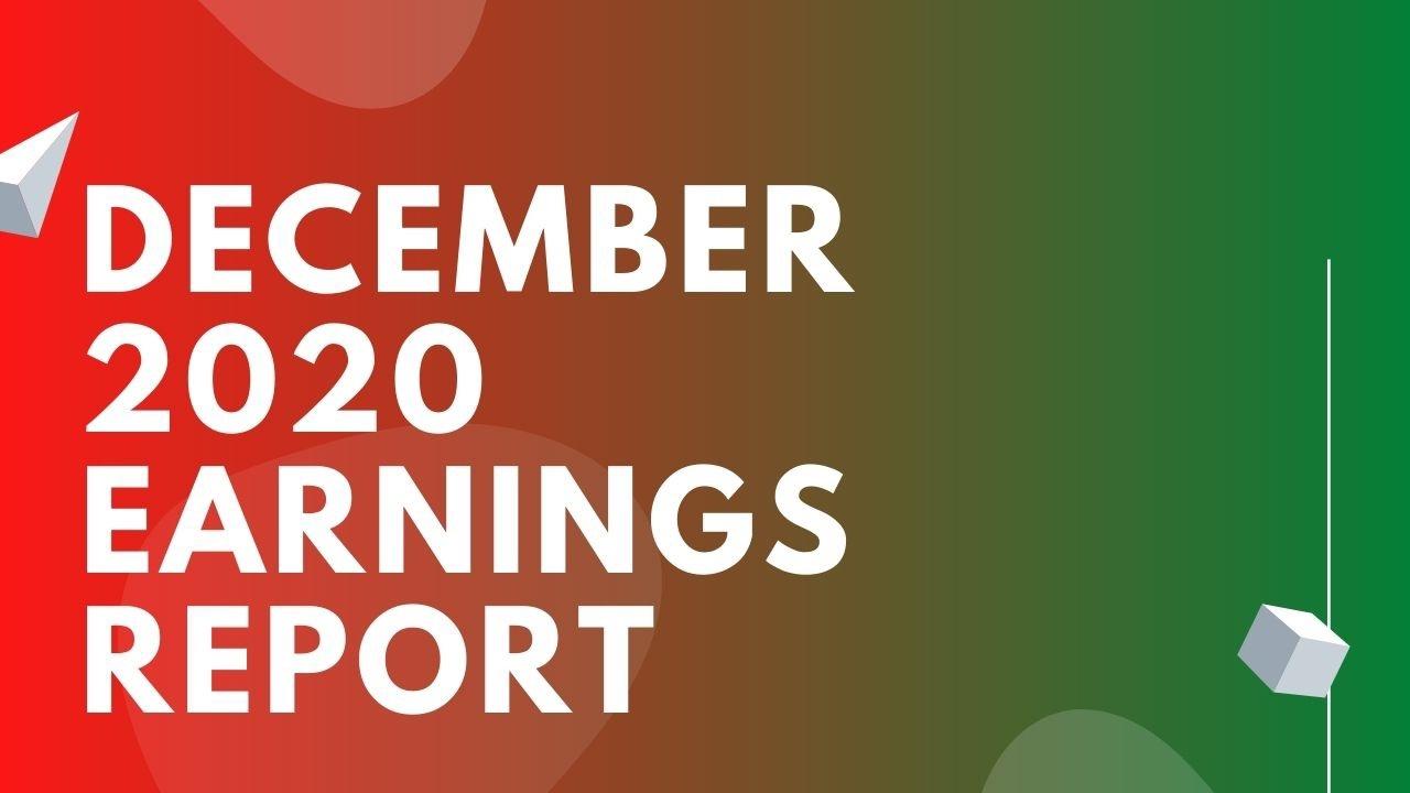 December 2020 Music Licensing Earnings