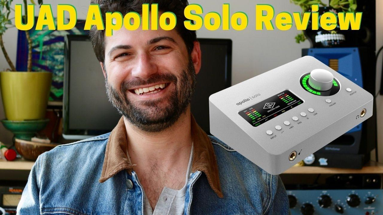 UAD Apollo Solo Review - Best Audio Interface