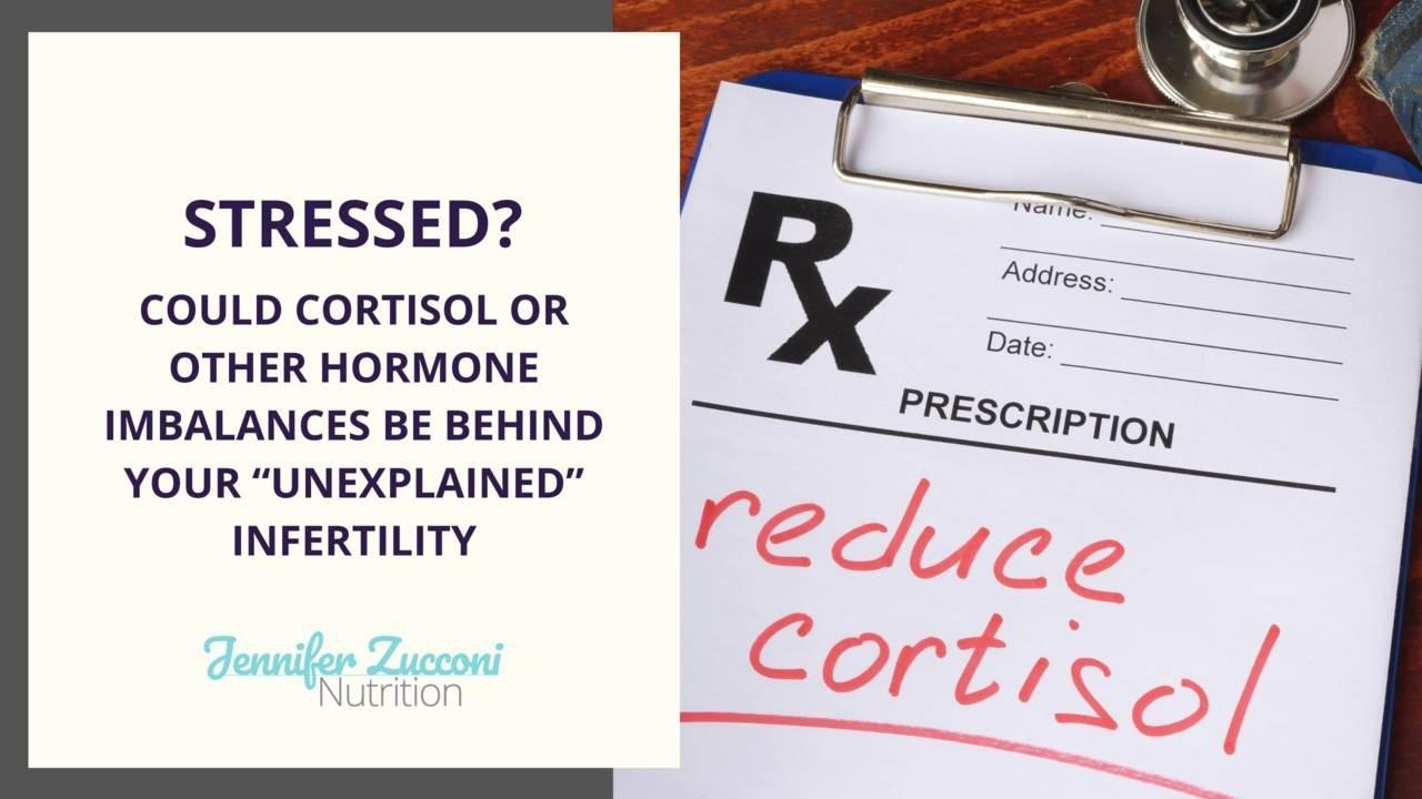 Is cortisol causing unexplained infertility