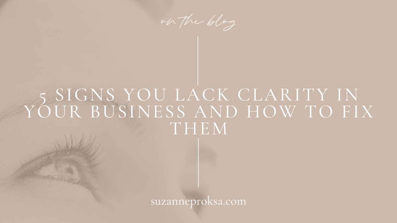 Clarity in business