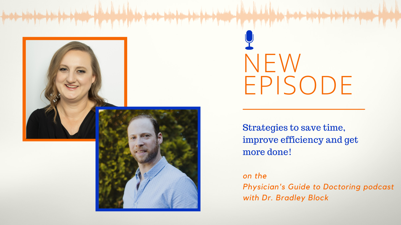 New podcast Sarah speaks with Dr. Bradley Block