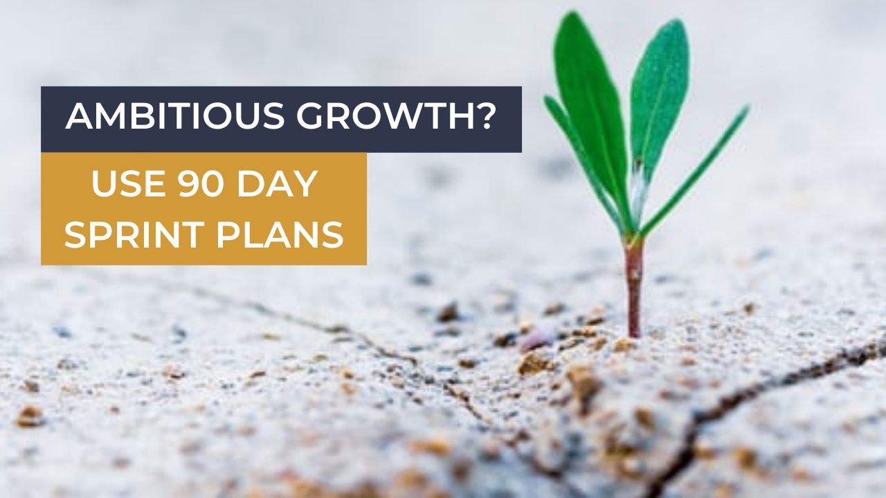 90 Day Sprint Plan Business Growth Planning for Online Businesses