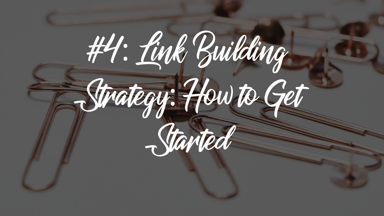 Blog article - Link building strategy