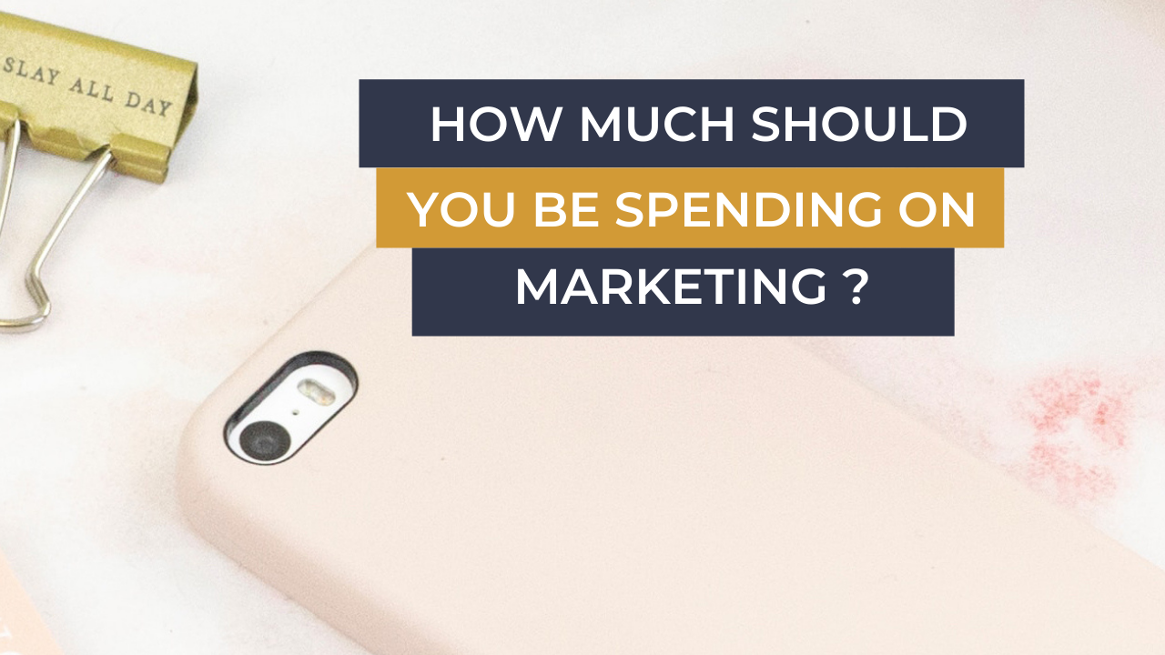 Top Business Coach UK How Much Should You Be Spending On Marketing