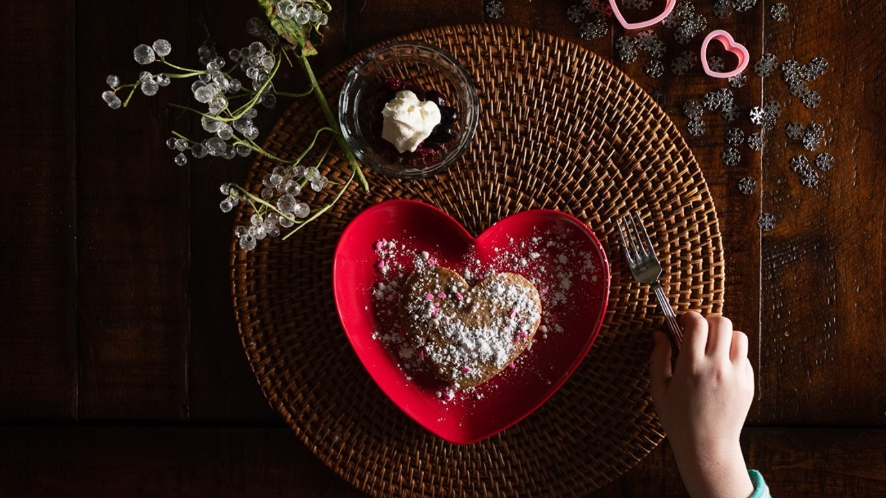 How to photograph Valentine's Day