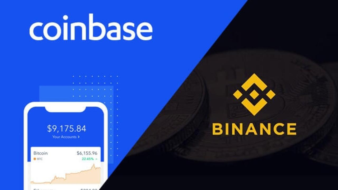 Foreign crypto exchanges: Coinbase and Binance