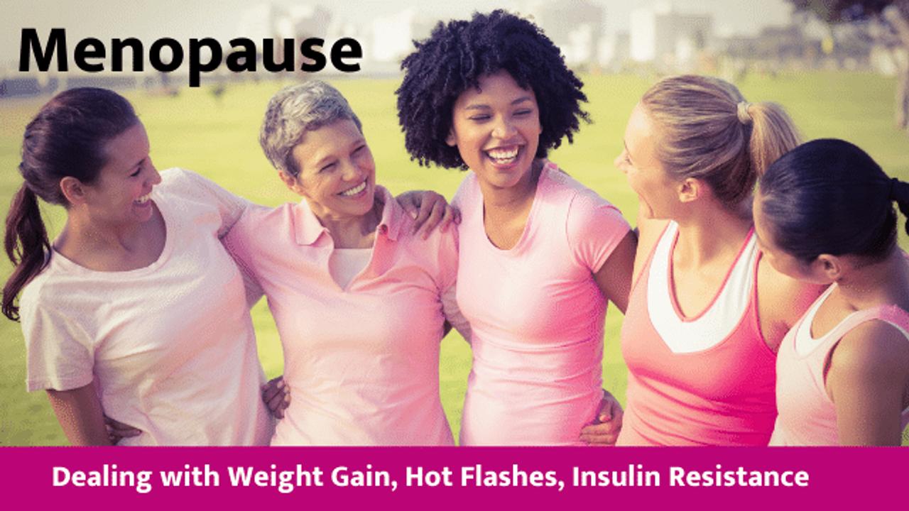 healthy women in menopause or perimenopause