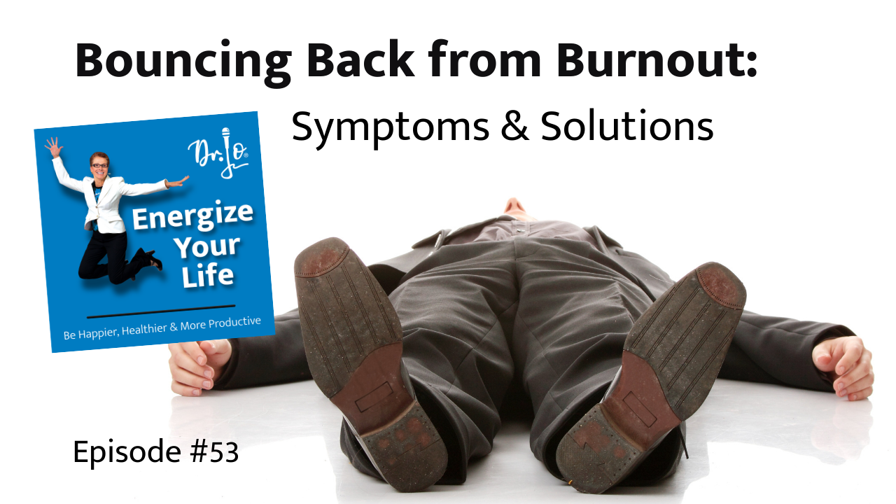 person exhausted with burnout