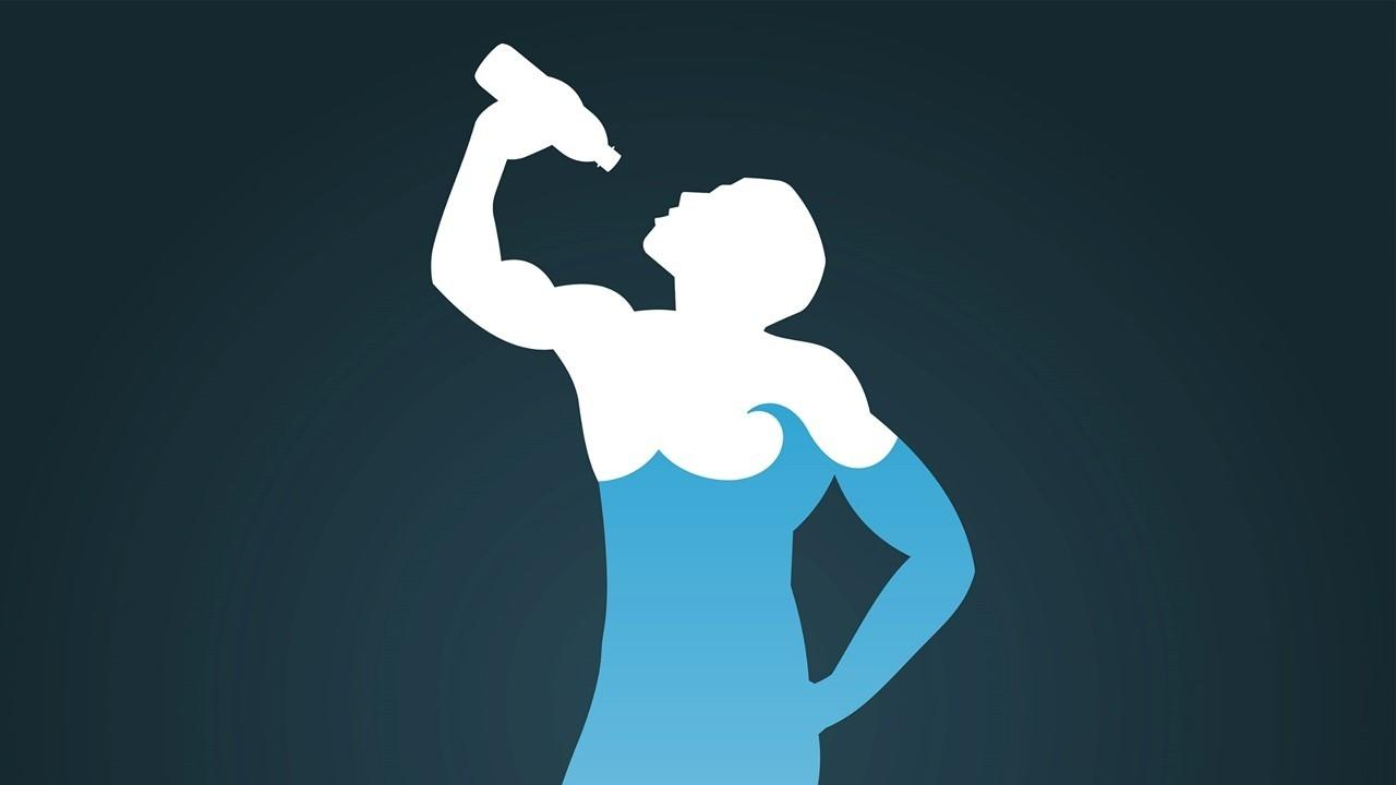 body with 60% water