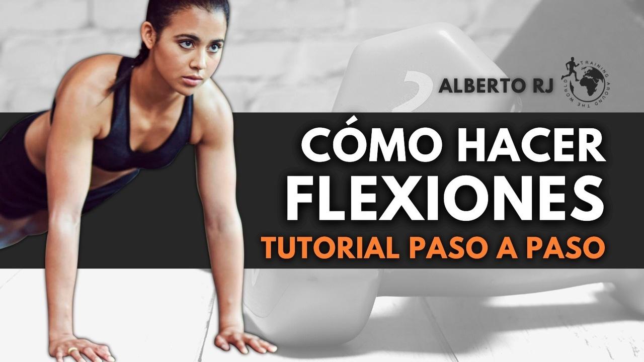 cómo hacer flexiones de rodillas