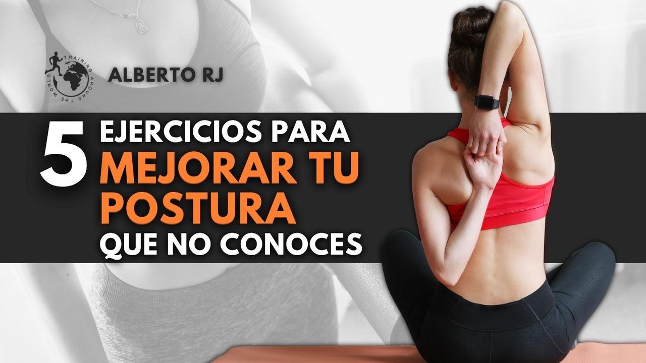 ejercicios mejorar postura