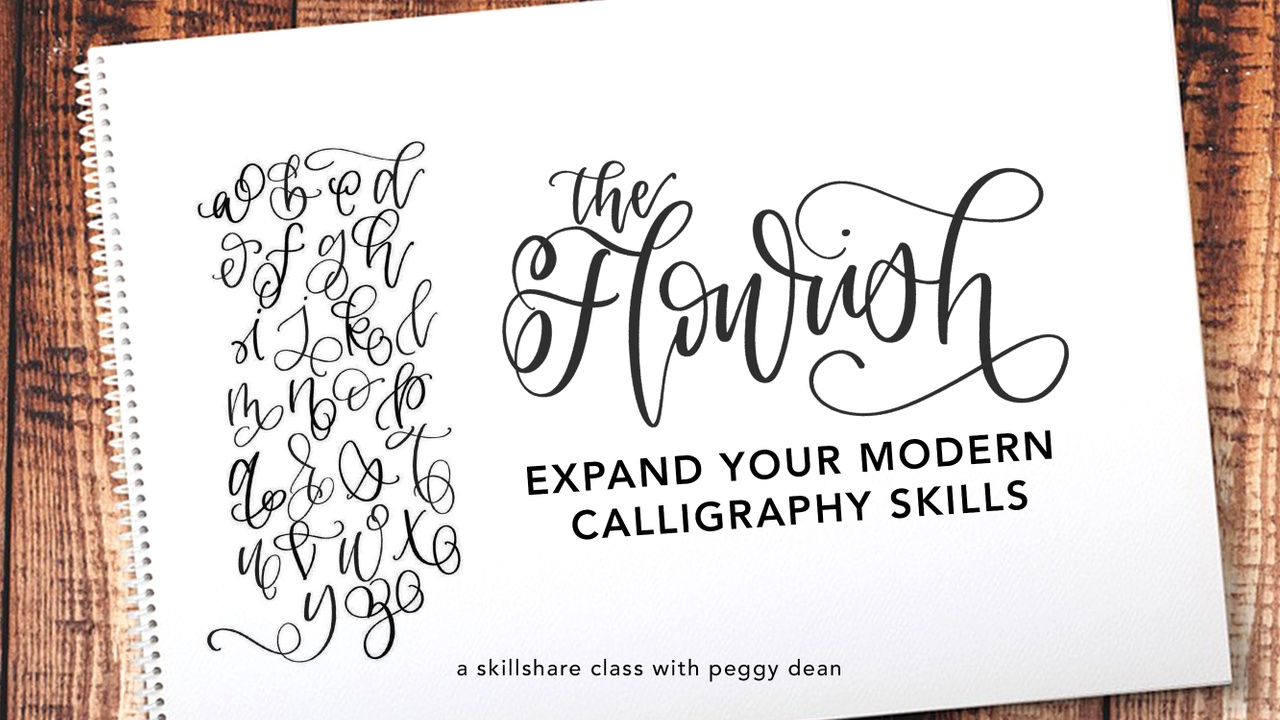 Lettering with Flourishes