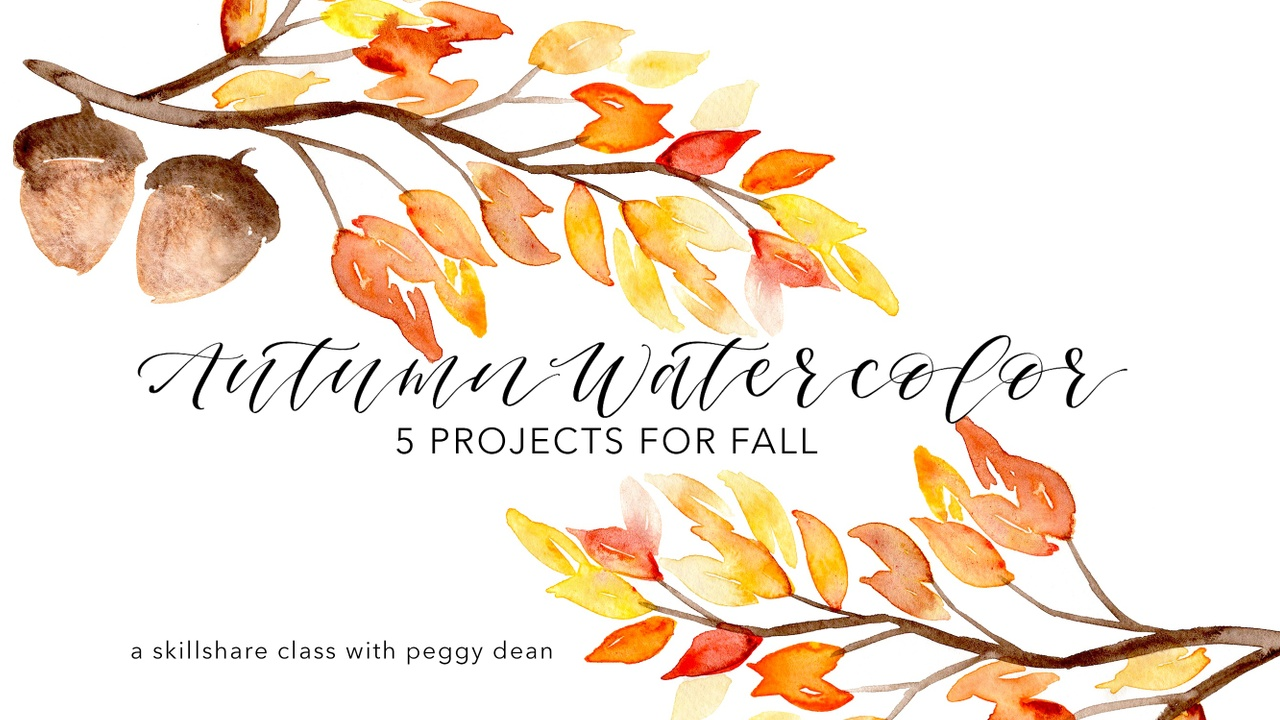 5 Easy Fall Paintings