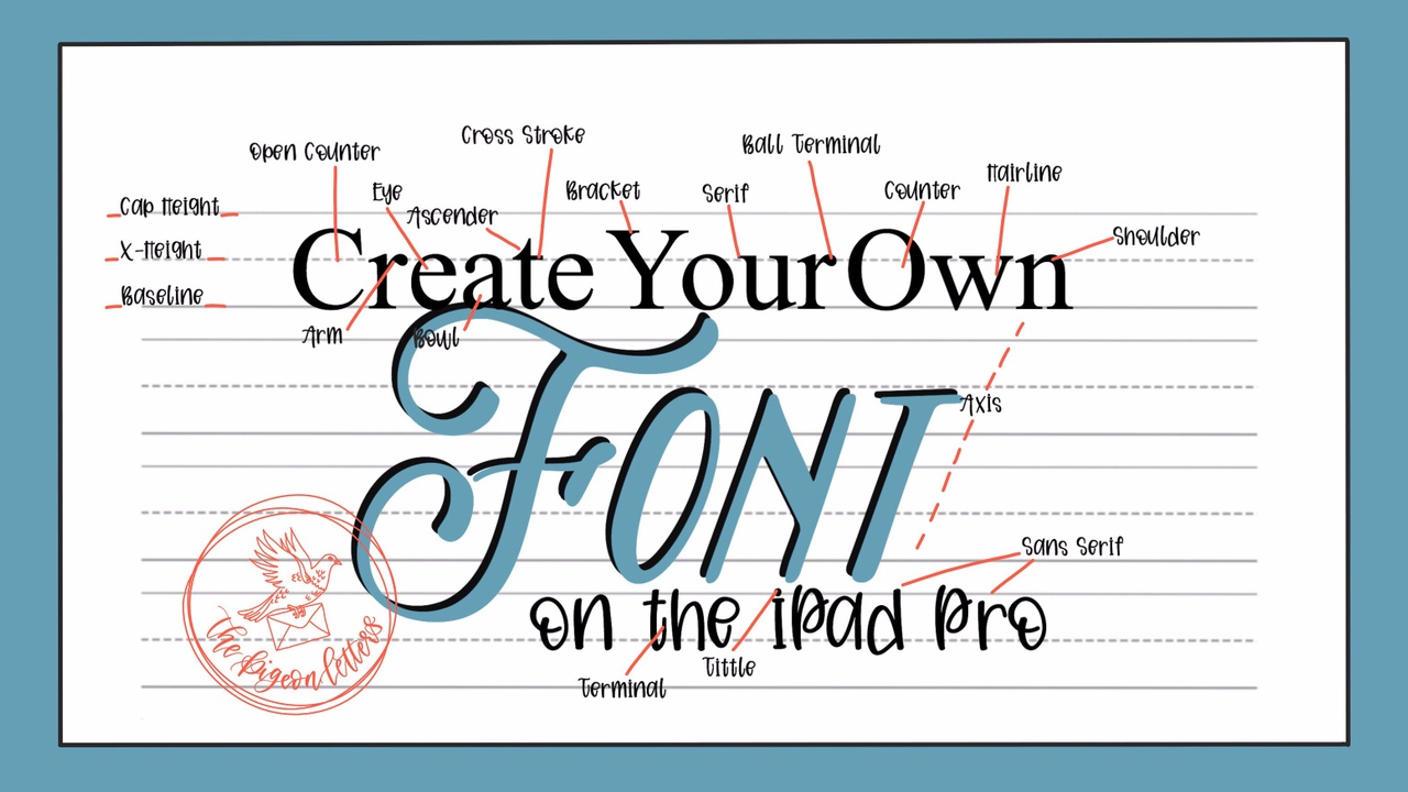 Create Your Own Font on the iPad