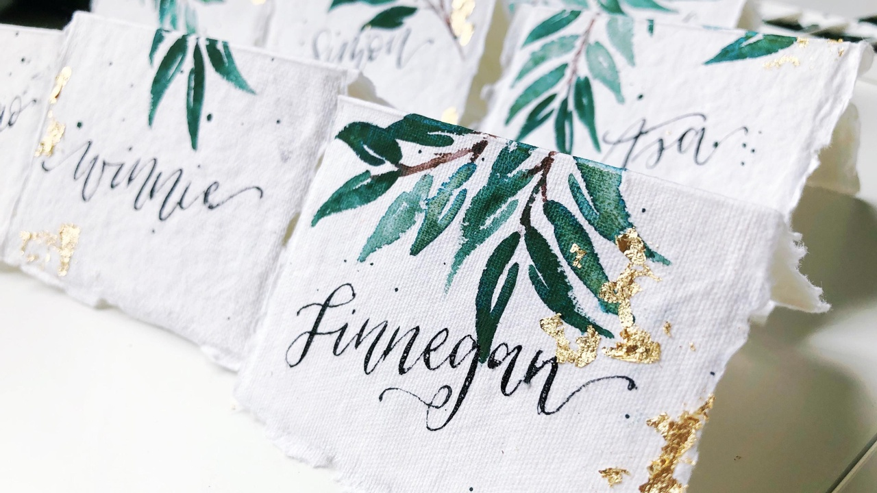 Create Elegant Place Cards