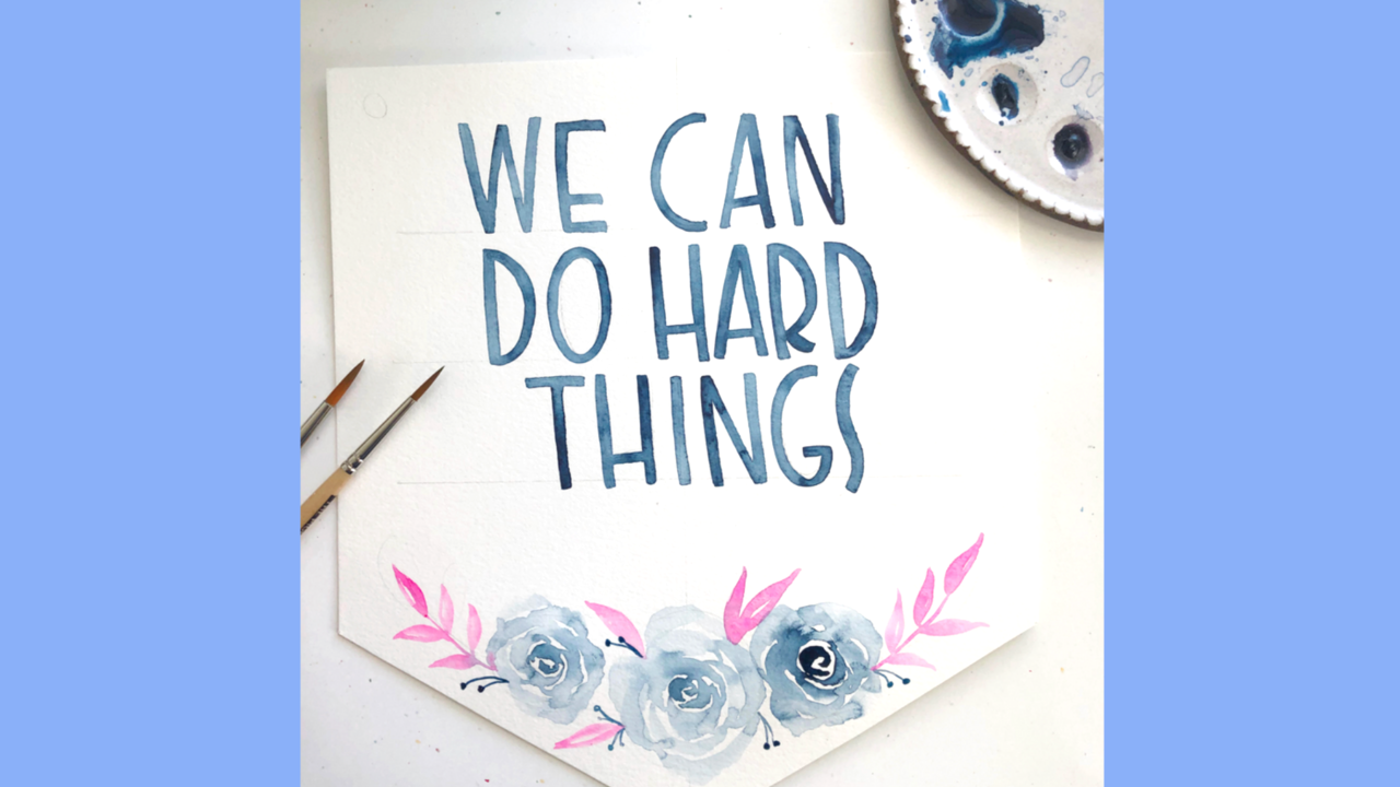 lettering craft ideas