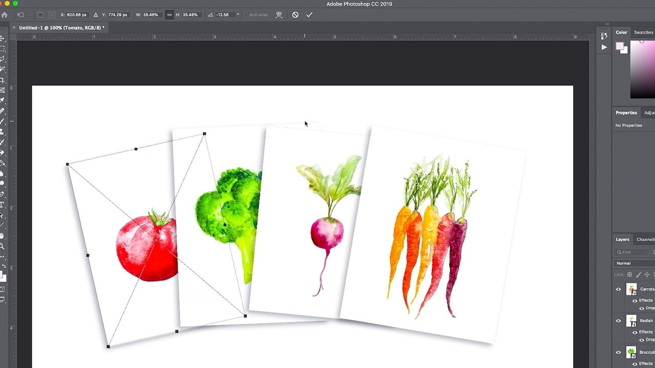 How to Make a Page Spread in Photoshop